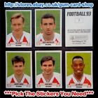 ☆ Panini Football 93  (Stickers 1 to 99) *Pick the Stickers You Need*