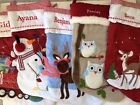Pottery Barn Kids Christmas Stocking-with Embroidered Name-Lots of Styles