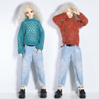 1/4 BJD Doll SD Dollfie DZ DOD LUTS Outfit Red Blue Sweater Jeans Boy Clothes