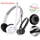 Portable Fashion Bass Stereo Headphones For iPhone MAC PC MP3 With Microphone