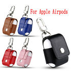 For Apple Airpods Headset Portable Leather Case Protective Cover Bag Pouch