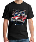 Plymouth Roadrunner Adult's T-shirt American Classic Red Car Tee for Men - 1884C $14.82 USD on eBay