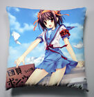 NEW Suzumiya Haruhi Sofa Pillow Cushion Double Side 40x40CM Anime