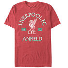 Liverpool Football Club Anfield Logo Mens Graphic T Shirt