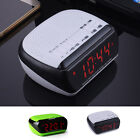 Portable Mini LED Bluetooth Speaker with FM Radio Alarm Clock USB SD TF AUX MP3