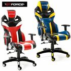GTFORCE TRONIC X RECLINING SPORTS RACING GAMING OFFICE DESK LEATHER CHAIR