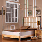 Stainless Steel Mosquito Bed Netting Canopies Net Frame/Post For Twin Queen King