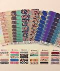 Jamberry Nail Wraps-Full & Half sheets-Retired, Rare, VHTF-free gift w/purchase