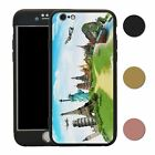 Travel Holiday Adventure 360° Case & Tempered Glass Cover For iPhone - S4743