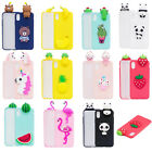 For Apple iPhone X Xmas Gift Fruits Soft Silicone Protective iPhone Case Cover