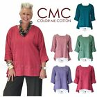 CMC by COLOR ME COTTON USA  5369  Cotton CHENILLE A-Line POCKET Top  2017 FALL $38.35 USD on eBay