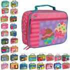 Stephen Joseph Children Kids Portable Insulated Lunch Carry Picnic Bag New
