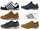 MENS NEW KSWISS ARVEE RINZLER TRAINERS LACE UP LEATHER LO TOP SNEAKERS SIZE 6-12