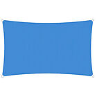 Sun Shade Sail Blue Permeable Canopy Lawn Patio Pool Garden Deck 8x8 24x24 Kit 6