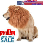 NEW Dog Wig Realistic Funny Lion Mane Dogs Costumes Halloween Props Fake Hair