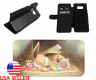Eevee Pokemon 3DS Game Leather Stand Phone Case for LG Samsung Galaxy iPhone