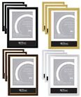 12 X A4 CERTIFICATE PHOTO PICTURE FRAMES WALL MOUNTABLE FREE STANDING FRAME