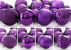 Christmas Tree Ornaments Ball Xmas Party Bauble Hanging Home Decor Shatterproof