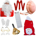 SANTA SET ULTIMATE FATHER CHRISTMAS ACCESSORY 10 PACK MENS XMAS ACCESSORIES LOT