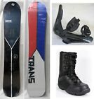 NEW TRANS SNOWBOARD, BINDINGS, BOOTS PACKAGE - 154cm