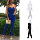 Oversized NEW Womens Sexy Sleeveless Jumpsuit Bodycon Trousers Playsuit Overall