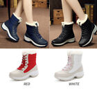 New Fashion Flat Boots Women Comfort  Cotton Winter Warm Ankle Snow Boots Shoes