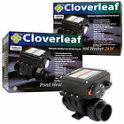 Cloverleaf Pond Heaters 1kW/2kW Weatherproof Temperature Control Healthy Fish
