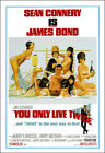 You Only Live Twice Movie Poster Print - 1967 - Action - 1 Sheet Artwork - 007 $24.84 CAD