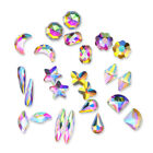 20Pcs 3D Nail Art Rhinestone Marquise Star Flower Butterfly  Nail Decor