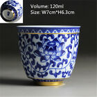 Chinese tea cup Japanese style master cup of tea blue-and-white porcelain cups