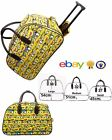 Large Minion Print Vintage Holdall Trolley Bag Travel Case Hand Luggage Holiday