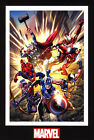 The Avengers Age of Ultron Marvel Comic Book Artwork Thor Spider-Man Wolverine