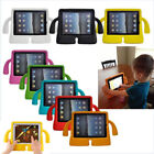 For iPad 9.7 Mini Air Pro Kids Safe EVA Foam Rubber Handle Kid-Proof Case Stand