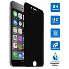 Privacy Anti-Spy Tempered Glass Screen Protector Shield for iPhone X 7 8 Plus 6S
