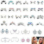 Face Gems Adhesive Glitter Jewel Tattoo Wedding Festival Rave Party Body Make Up