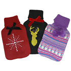 Snug & Toastie Novelty Deluxe Hot Water Bottles And Soft Warm Patterned Holders