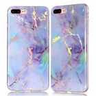 For iPhone 7 7 Plus Retro Marble Pattern Design Texture Rubber Soft Cases Cover