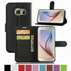 Flip PU Leather Wallet Card Holder Stand Case Cover For Samsung Galaxy S7 Edge