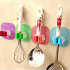 Kitchen Mop Broom Holder Wall Mounted Organizer Brush Hanger Rack Storage Tool