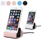 Original Desktop Charger sync dock stand charge Cradle for iPhone 5 6 S 7 8