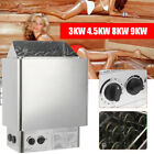1PC 220V  Wet & Dry Sauna Heater Stove Spa Controller Home Grade Stainless Steel