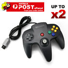 OZ Classic Game Controller Gamepad Joystick for Nintendo 64 N64 System Black