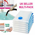 LARGE Jumbo Vacuum Storage Space Saving Compressed Vac Bags CLOTHES,BEDDING Etc