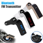 3 Colors Car FM Transmitter Bluetooth Hands-free MP3 Player Adapter Kit Charger
