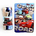 CHILDREN'S KIDS TAKE THE OPEN ROAD CARS  SOFT FLEECE BLANKET