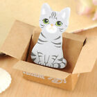 Kawaii Cat House Box Sticker Post Sticky Notes Cute Bookmark Maker Memo Pads