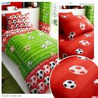FOOTBALL GOAL SINGLE DUVET COVER, PILLOWCASE, FITTED SHEET AVAILABLE