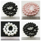 1 STRING GLASS PEARL BEADS 18 & 20mm *SLIGHTLY DAMAGED* *REDUCED PRICE* BEADING