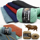 Внешний вид - 100gXSkeins soft Knitting yak wool cashmere for sweater DIY Crochet Chunky Yarn