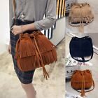 Women Fringe Tassel Handbag Shoulder Bag Tote Purse Messenger Hobo Satchel Bag